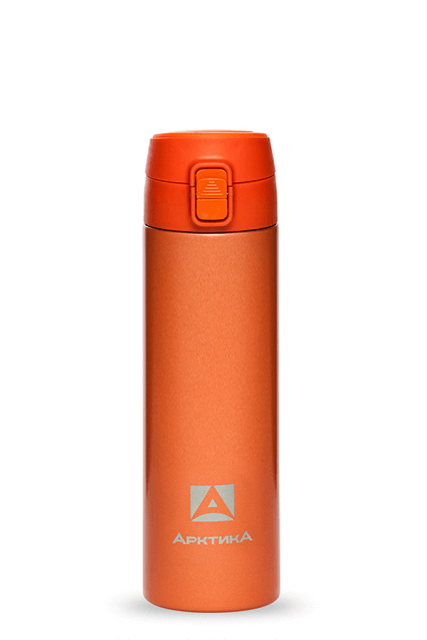Термос для напитков Арктика 705-500 (оранжевый)