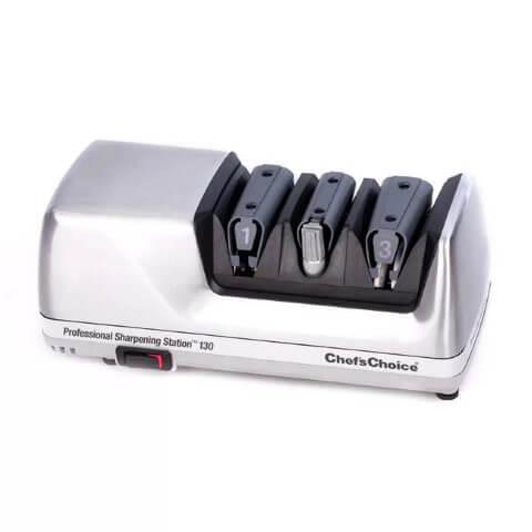 Точилка электрическая для заточки ножей Chef's Choice CH/130H (Хром)