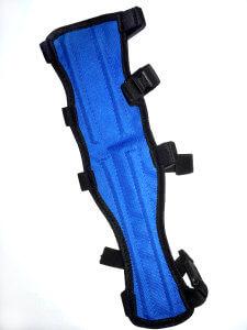 Крага для лука из синтетической ткани (Синяя)
