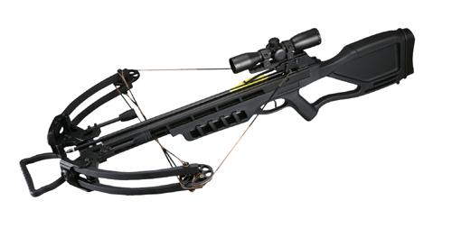 Арбалет Man-Kung MK-380 (Черный)
