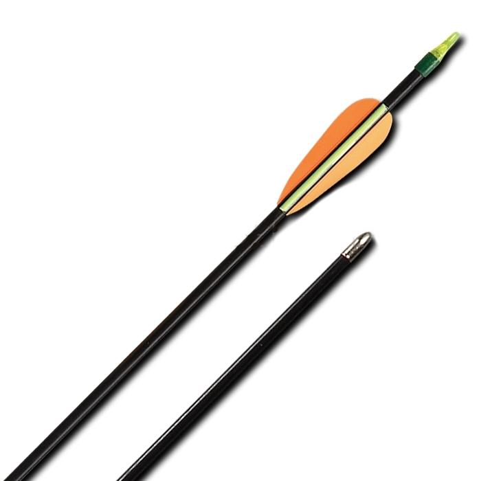 Стрела лучная фибергласовая 28 дюймов