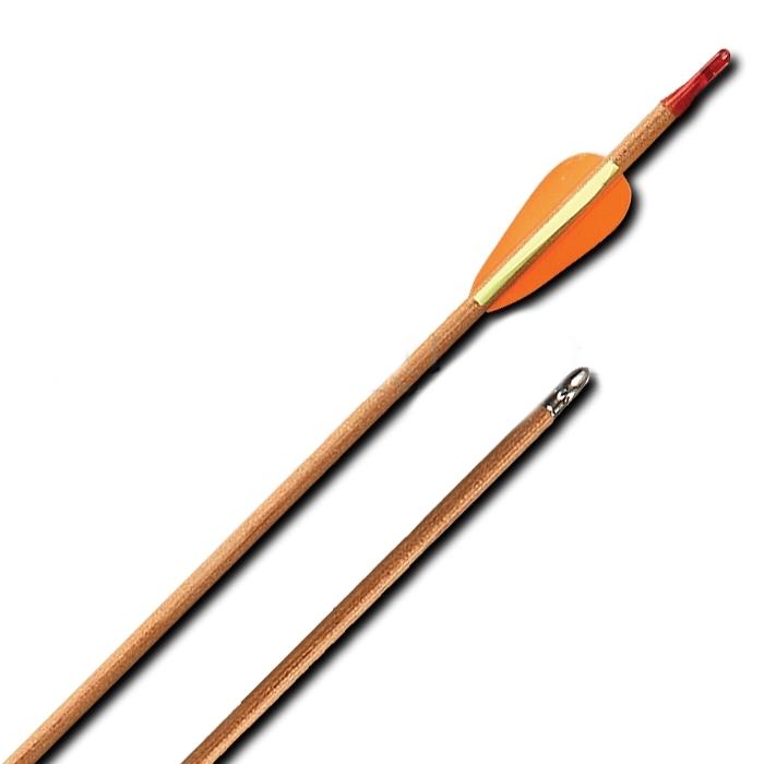 Стрела лучная деревянная 26 дюймов