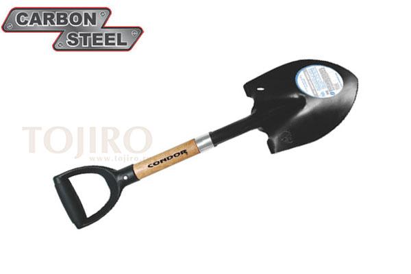 """Лопата CONDOR TOOL CTK5010 4×4 ROUND SHOVE 14 3/4"""" Рукоять ясень и полипропилен"""