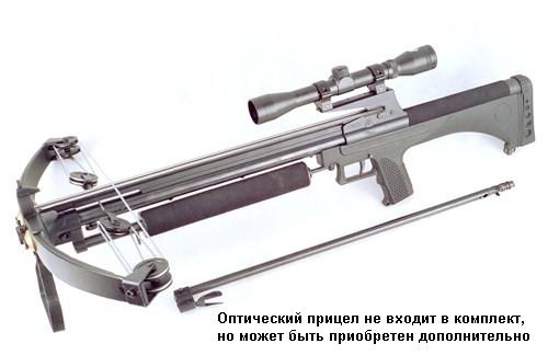 Арбалет Interloper Черный Питон