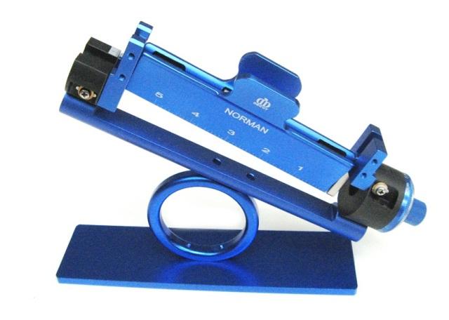 Пероклейка для лучных стрел Decut Fletching JIG Blue
