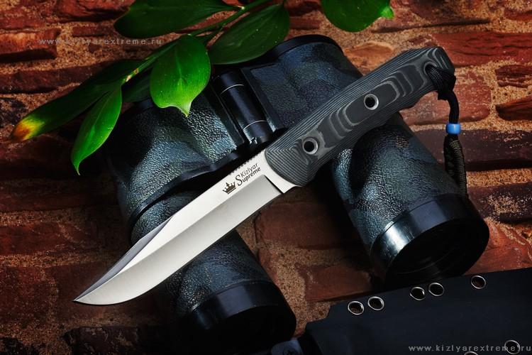 Нож с фиксированным клинком Enzo D2 Satin