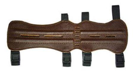 Крага для лука Interloper 33см (кожа)