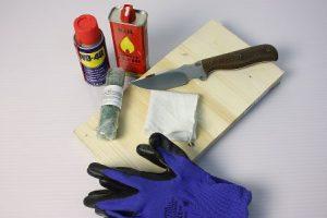 Паста для полировки ножей