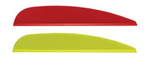 Оперение для арбалетной стрелы 2,5″ (дюйма) – 9 шт