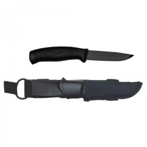 Купить нож Morakniv Companion Tactical BlackBlade, нержавеющая сталь, черный клинок, арт. 12351