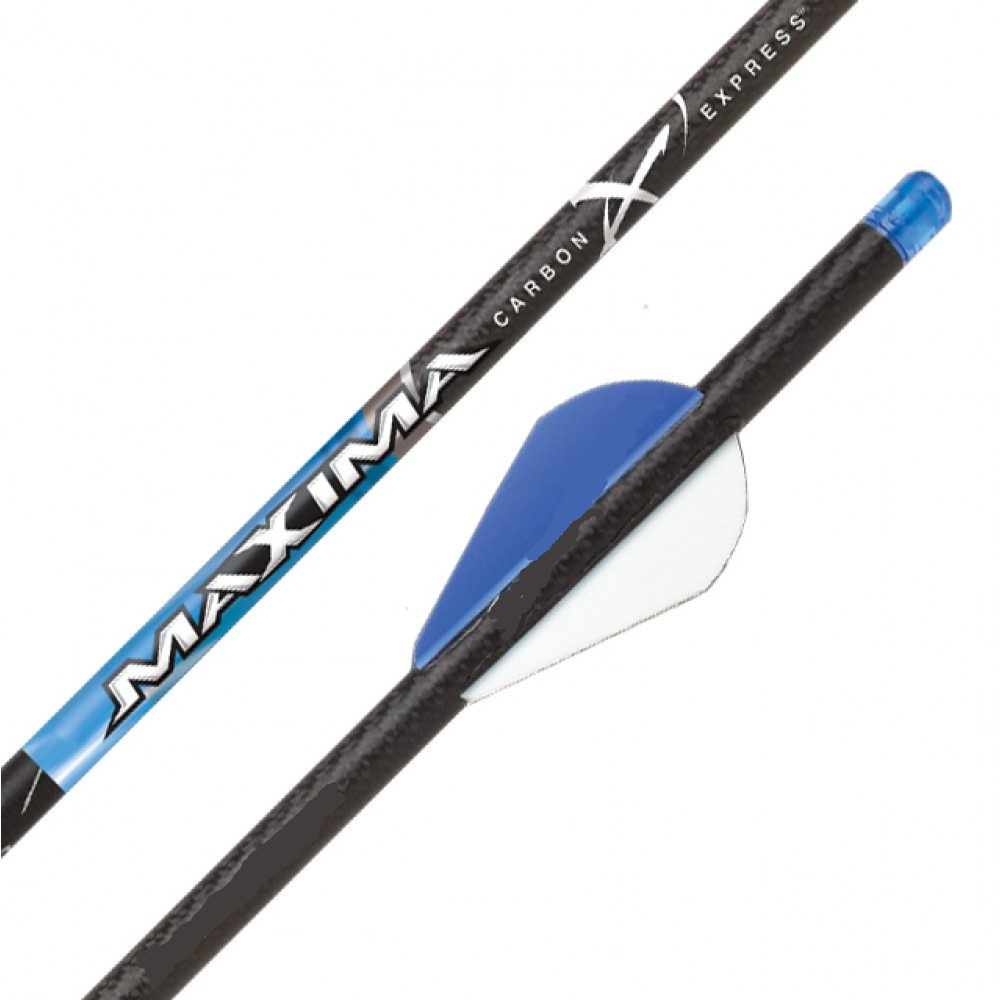 Стрела для арбалета карбоновая Carbon Express Maxima Blue Streak 22 дюймов