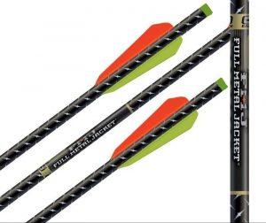 Стрела для арбалета Full Metal Jacket карбон алюминий 22 дюймов Flat Nock