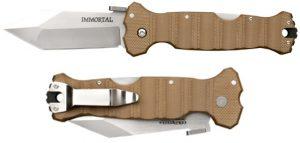 Купить нож Cold Steel модель 23GVB Immortal Coyote Tan недорого