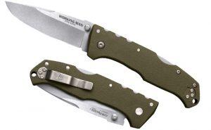 Купить нож Cold Steel модель 54NVG Steve Austin Working Man OD Green DP по низкой цене