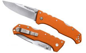 Купить нож Cold Steel модель 54NVRY Steve Austin Working Man Blaze Oran по спец цене
