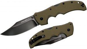 Купить нож Cold Steel модель 27TLCVG Recon 1 Clip Point OD Green с доставкой