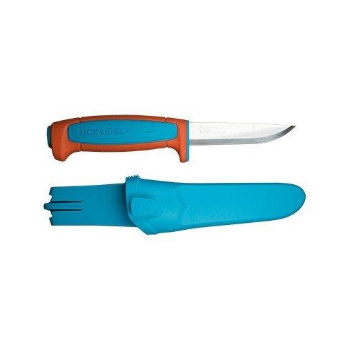 Купить нож Morakniv Basic 546, нержавеющая сталь, пласт. ручка, оранжевый, арт. 13202 дешево
