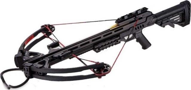 Арбалет Man Kung MK XB52 (Чёрный)