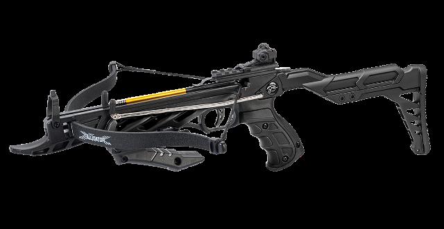 Арбалет-Пистолет Man Kung MK-TCS2 Alligator черный