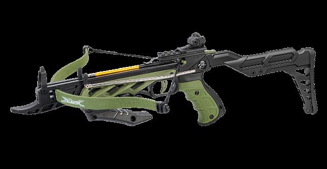 Арбалет Пистолет Man Kung MK TCS2 Alligator зеленый
