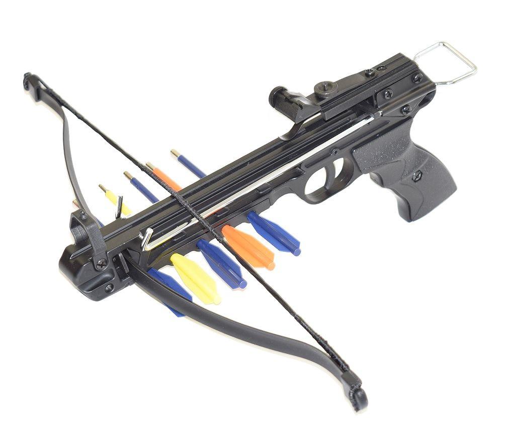 Купить арбалет-пистолет Man-Kung MK-50A2/5PL металл дешево