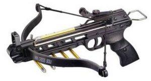 Купить арбалет-пистолет Man-Kung MK-80A1 пластик дешево