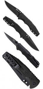 Купить нож SOG, модель FF1101 Salute Mini Black недорого в Москве