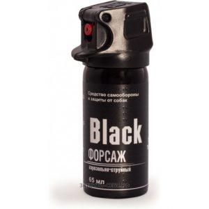 Газовый баллончик Black Форсаж 65 мл