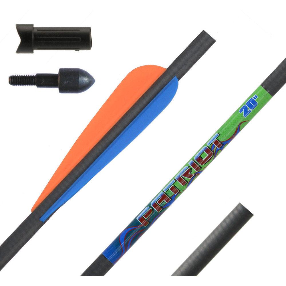 Стрела для арбалета карбоновая Patriot 20 дюймов