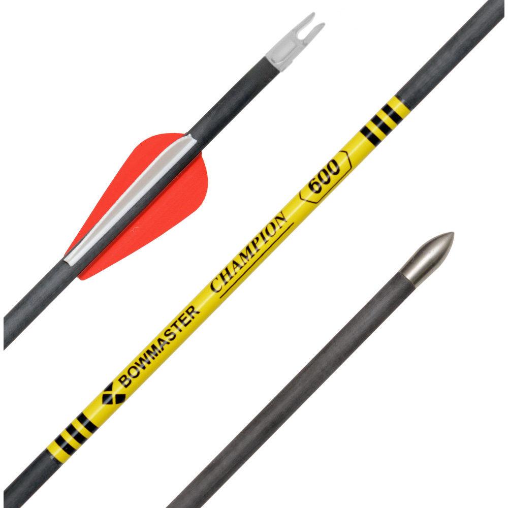 Купить стрелу лучную карбоновую Champion жесткость 500 по лучшей цене в Москве