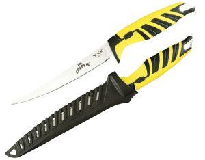 Купить нож BUCK модель 0233YWS Mr. Crappie Slab Shaver недорого в Москве с доставкой