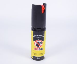 Газовый баллончик AntiDog 25
