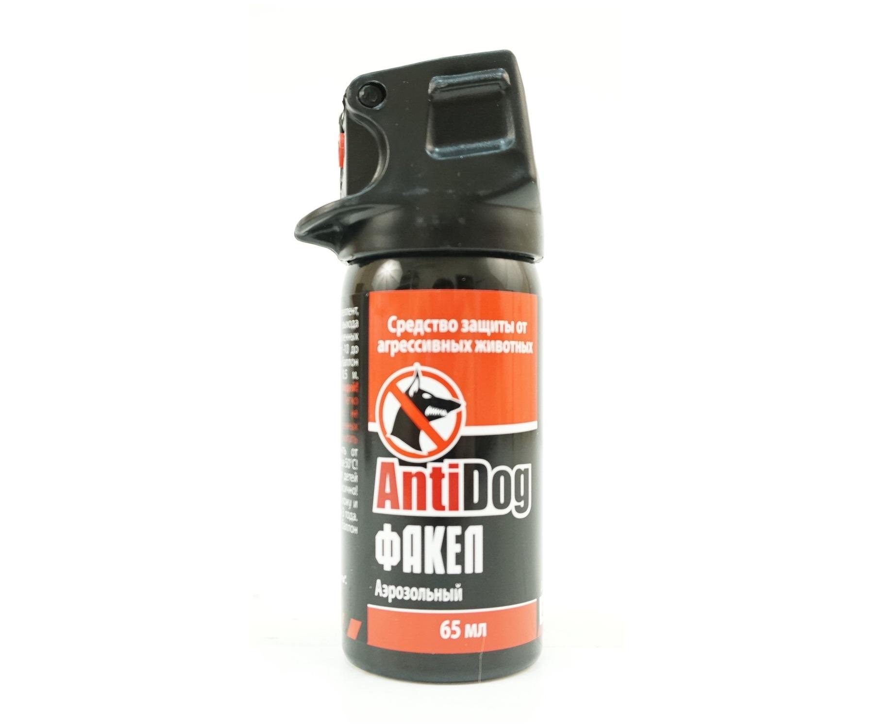 Газовый баллончик AntiDog «Факел», 65 мл