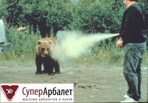 Купить газовый баллончик от медведя в Москве