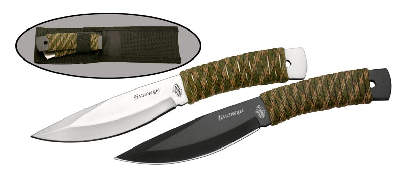 Набор метательных ножей Viking Nordway Близнецы B308-H2