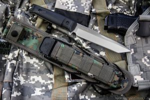 Нож Kizlyar Supreme Aggressor AUS8 Satin StoneWash