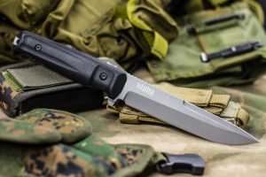Нож Kizlyar Supreme Alpha AUS8 TacWash