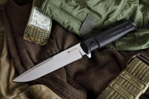 Нож Kizlyar Supreme Delta AUS8 StoneWash