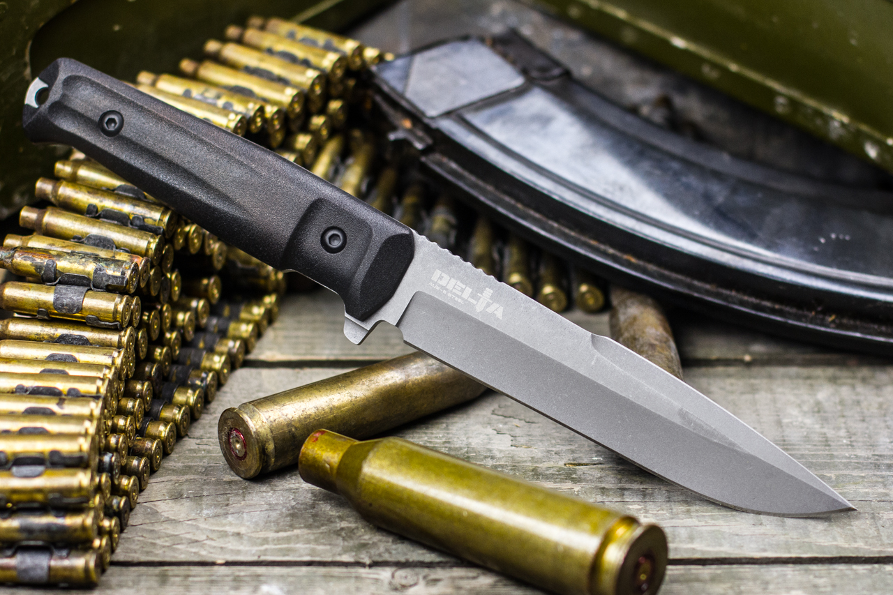 Нож Kizlyar Supreme Delta AUS8 TacWash