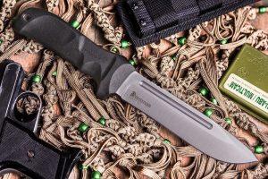 Нож Kizlyar Supreme Dominus AUS8 StoneWash