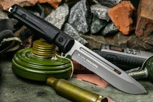 Нож Kizlyar Supreme Фельдъегерь AUS8 TacWash (Serrated)