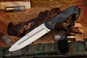 Нож Kizlyar Supreme Legion AUS8 StoneWash