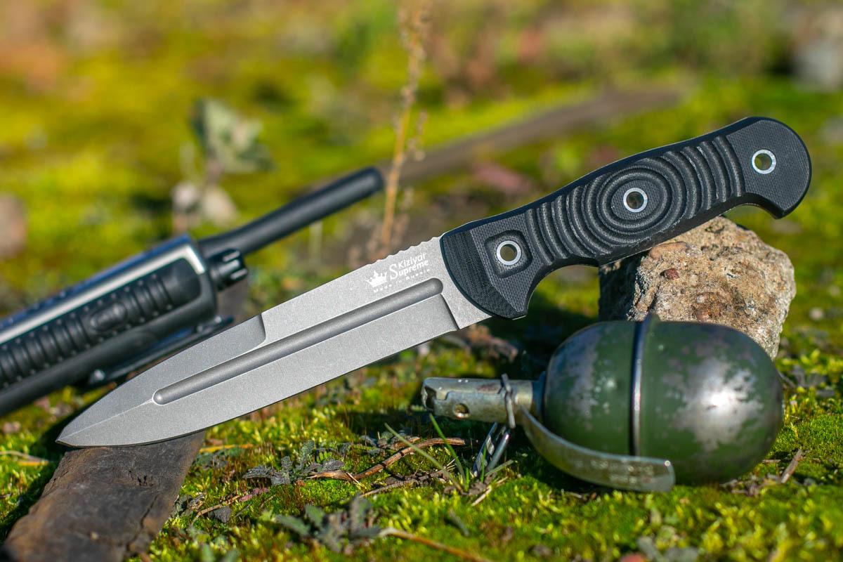 Нож Kizlyar Supreme Legion D2 TacWash