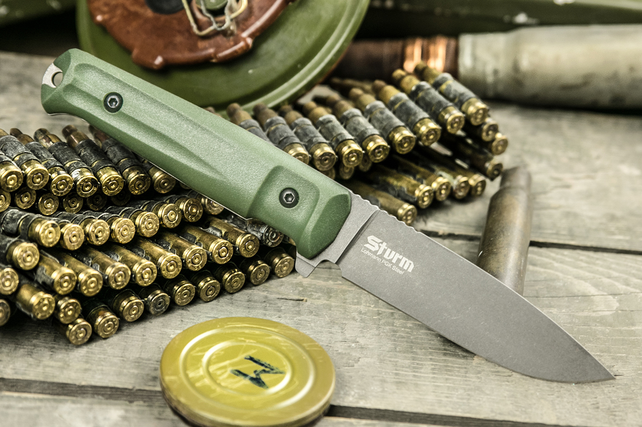 Нож Kizlyar Supreme Sturm PGK TacWash OH
