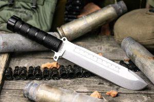 Нож Kizlyar Supreme Survivalist X D2 StoneWash