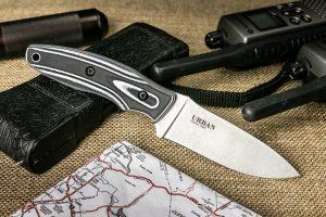 Нож Kizlyar Supreme Urban Niolox StoneWash