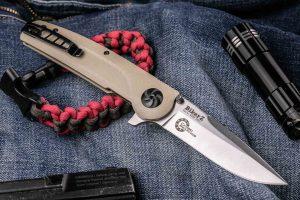 Нож складной Kizlyar Supreme Biker Z N690 Satin