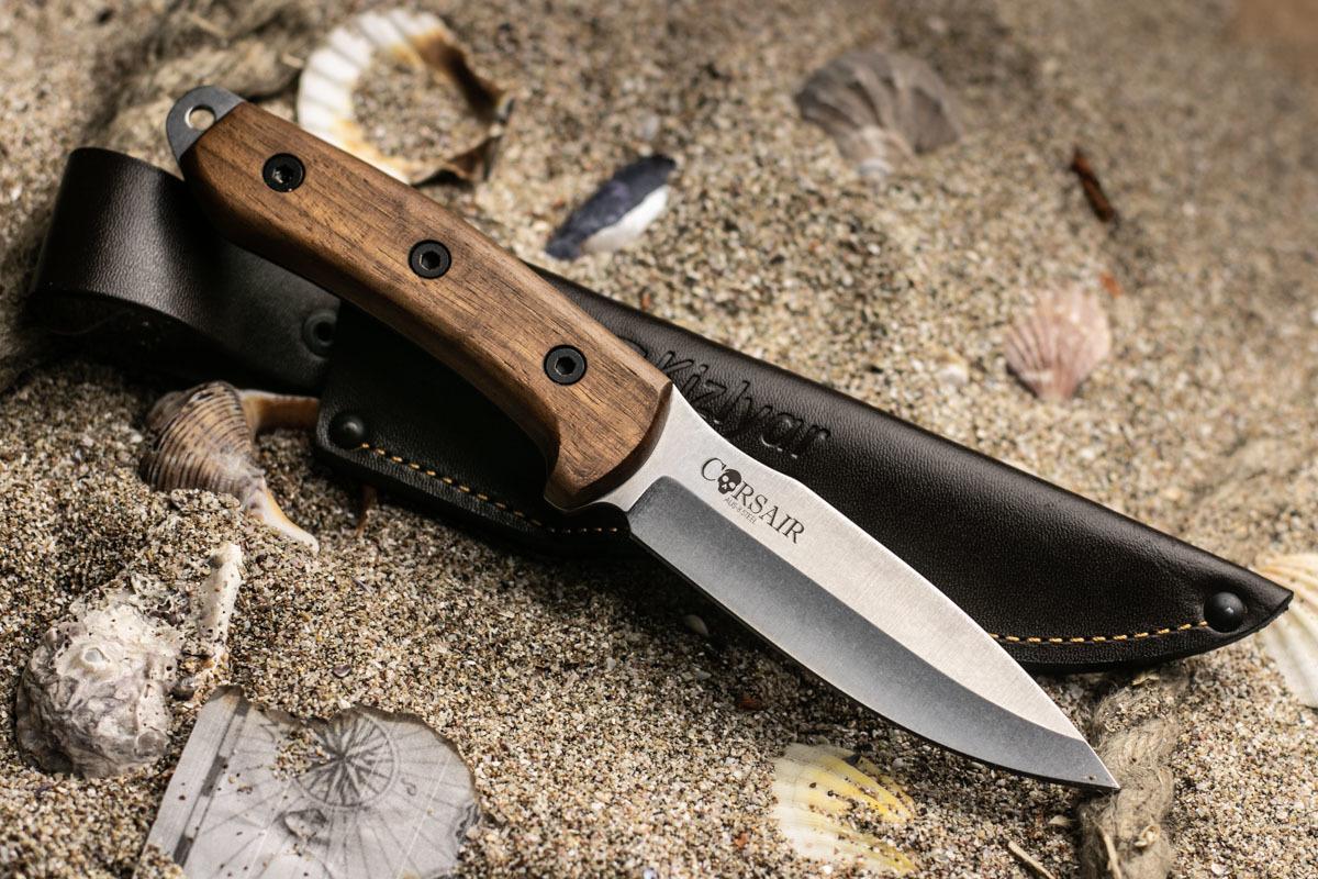 Нож Kizlyar Supreme Corsair AUS8 Орех