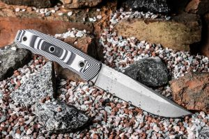 Нож Kizlyar Supreme Echo AUS8 TacWash