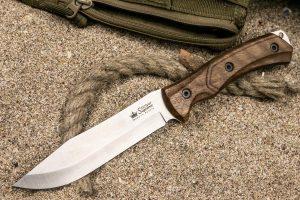 Нож Kizlyar Supreme Safari AUS8 StoneWash
